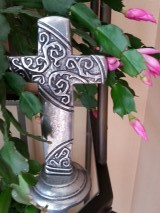 Easter cactus with cross