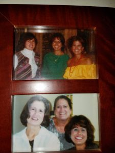 """The Parker Girls"" in '83 and '03."