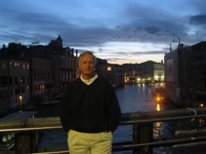 Jim in Venice, Italy.