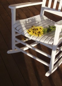 istock chair with flowers 117016